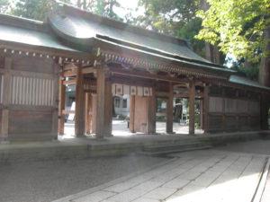 白山比咩神社神門