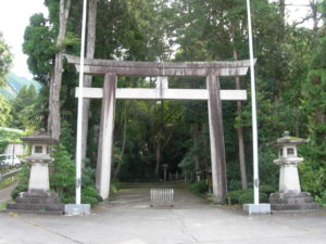 白山比咩神社一の鳥居