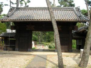 伊達家の門